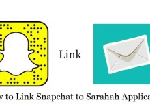 How to Add or Link Snapchat to Sarahah app