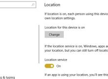 How to Turn Off Location Tracking in Windows 10 Laptop or PC