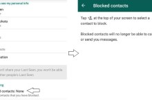 How to block or unblock contact in WhatsApp