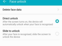 How to activate and use Face Unlock in Honor View 10 and Honor 9 Lite