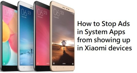 How to Stop Ads in System Apps in Xiaomi devices running MIUI