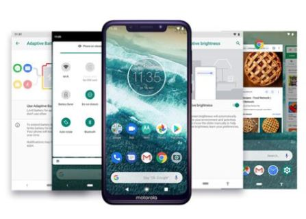 Motorola One Power Android 9 Pie OS update