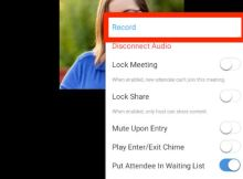 How to record and save zoom meeting on smartphone
