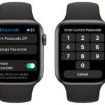 How to set 6 digit passcode in Apple Watch