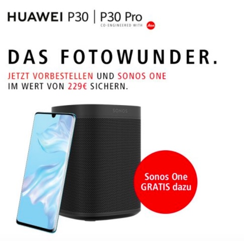Vorbesteller Aktion Huawei P30 Pro