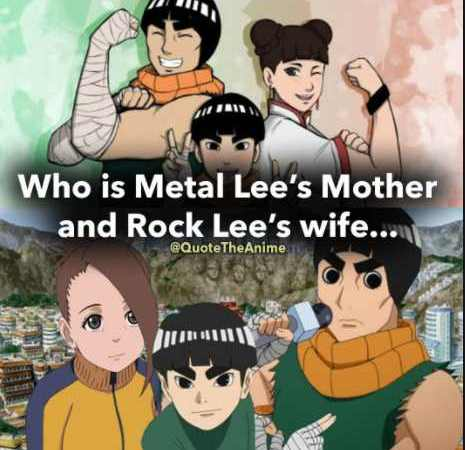 Who Is Metal Lee Mom and Rock Lee Wife? Complete Guide on Metal Lee