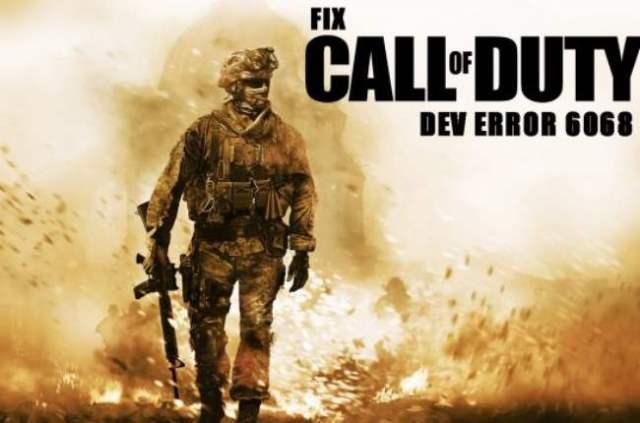 modern warfare dev error 6068