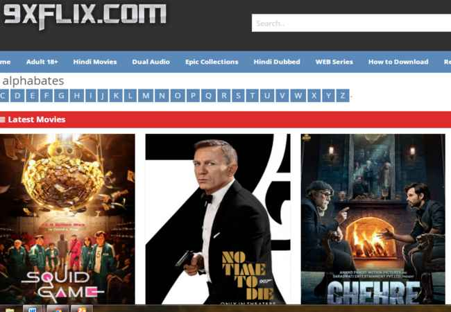 9xflix 2021 – The famous torrent for pirated Content and Movies