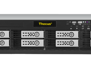 Thecus Enterprise Rackmount Storage solution 8-bay NAS with optional 10Gb Lan