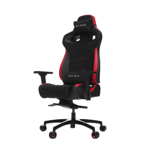 Vertagear Racing Series P-Line PL4500 Gaming Chair Coffee Fiber With Silver Embroirdery Black/Red Edition