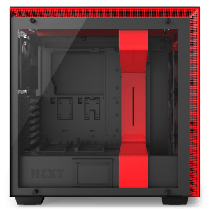 NZXT H700i Matte Black/Red