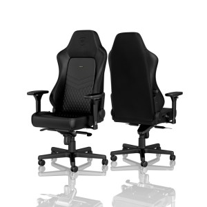 Noblechairs HERO Real Leather Gaming Chair Black