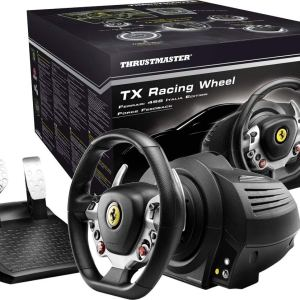 THRUSTMASTER TX Racing Wheel Ferrari 458 Italia Edition + The Crew