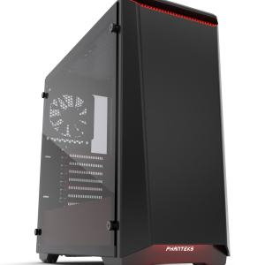 Phanteks Case Eclipse P400 TG Black/Red