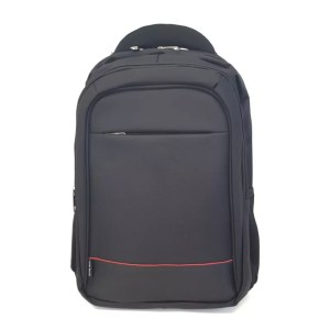 "Gold Touch 15.6"" Laptop Backpack Black/Red"