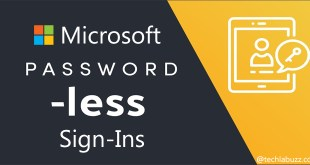 Passwordless Sign-Ins for Windows 10