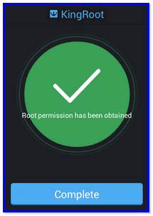 Root Tecno H6 completed