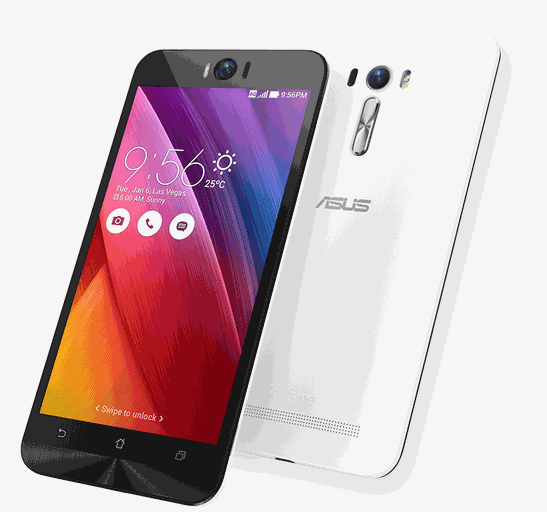 ZenFone Selfie front and back