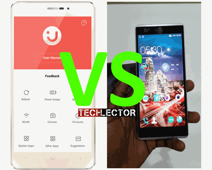 InnJoo Fire Plus vs Tecno Camon C8