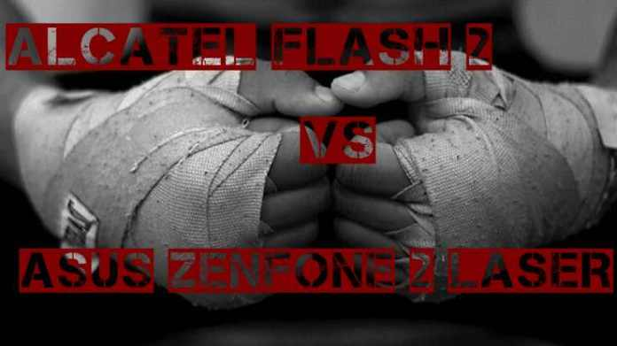 Alcatel Flash 2 Vs ASUS Zenfone 2 Laser ufiujhbkkf