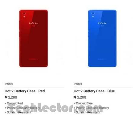 Infinix Hot 2 3000mAh Battery
