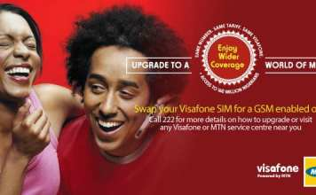migrate your Visafone line to MTN