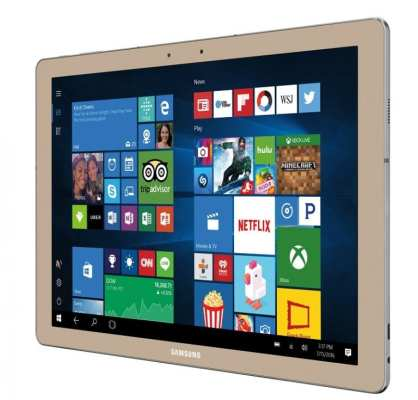 Samsung Galaxy TabPro S Gold Edition Design