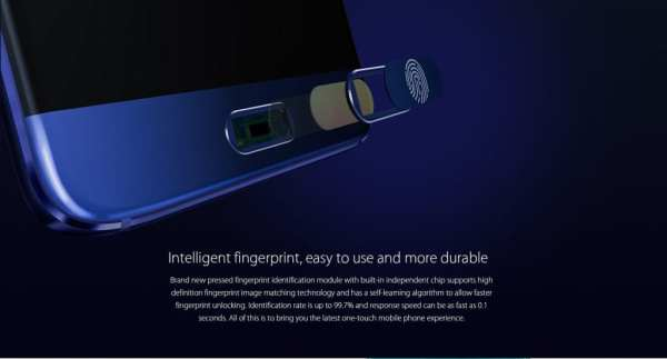 Elephone S7 Mini Fingerprint Scanner