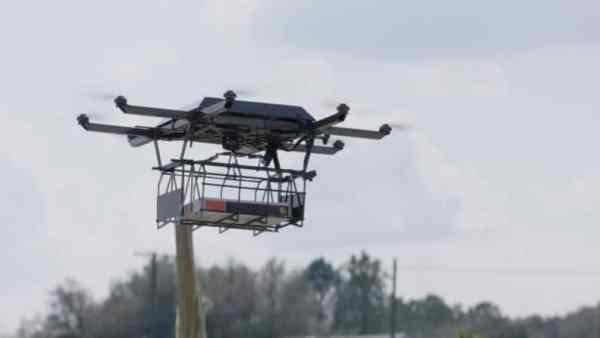 UPS Drone Delivery Test