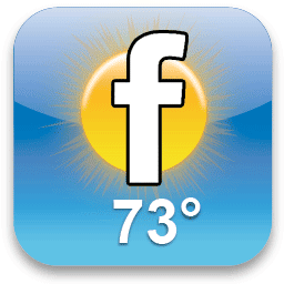 Facebook Weather
