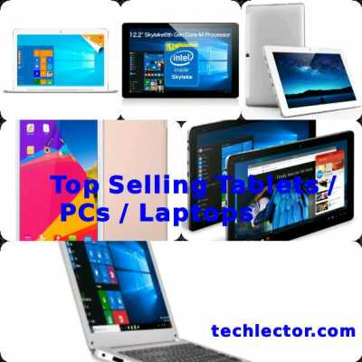 Top Selling Tablets / PCs / Laptops