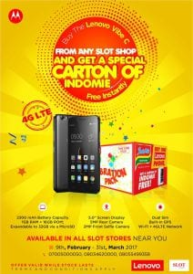 Buy A Lenovo Vibe C Smartphone And Get Free Special Carton Of Indomie Noodles