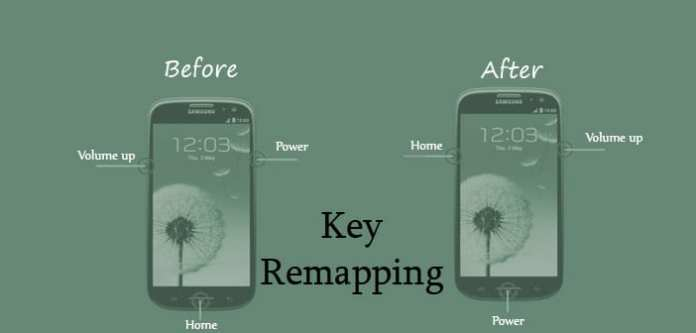 hardware key remap in android