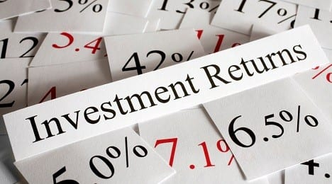 Returns on investments