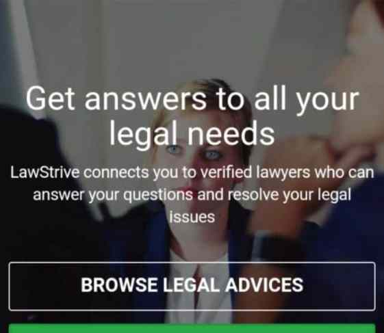 LawStrive to meet all your legal needs