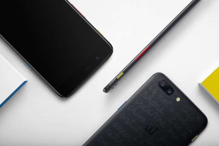 The OnePlus 5 JCC limited edition and the retail box it will come in