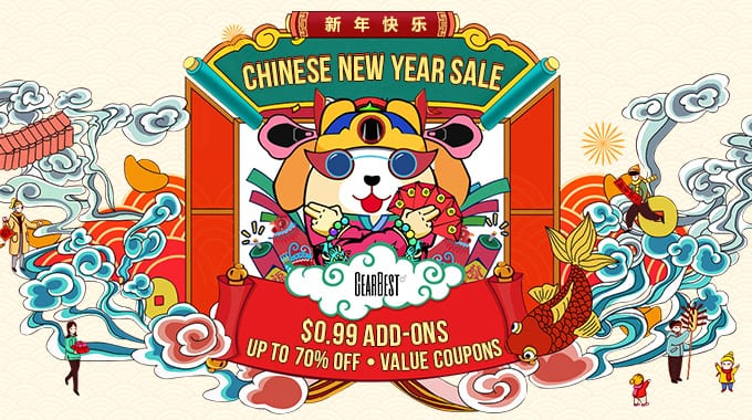 Chinese New Year Deal Event