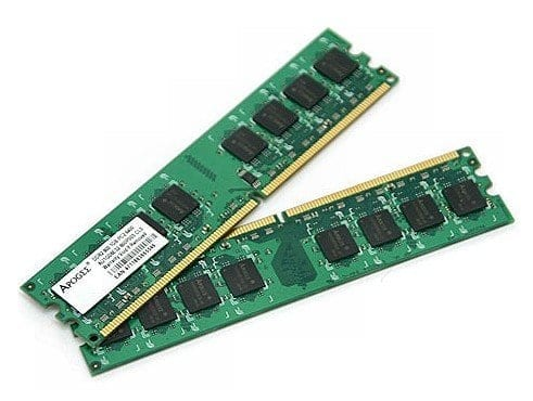 RAM chips on a board