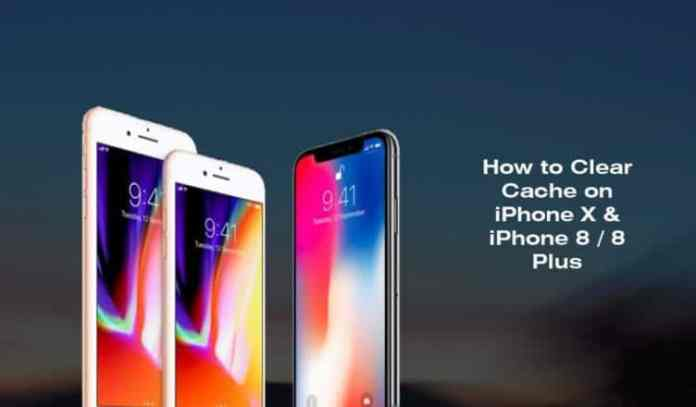 How to Clear Cache on iPhone X iPhone 8 8 Plus 752x440