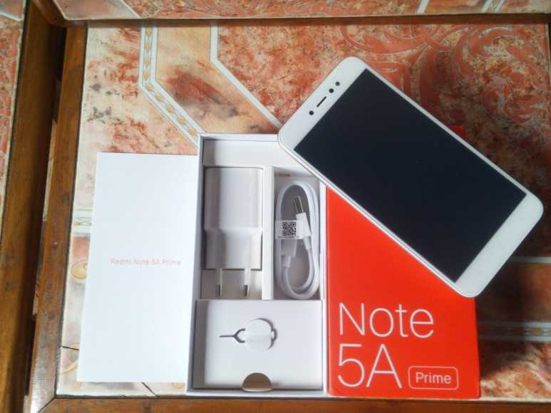 Xiaomi Redmi Note 5a Prime Unboxing And First Impressions Touchscreen