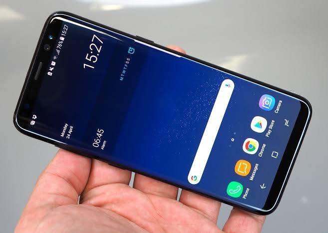Samsung Galaxy S8 Fast Charging