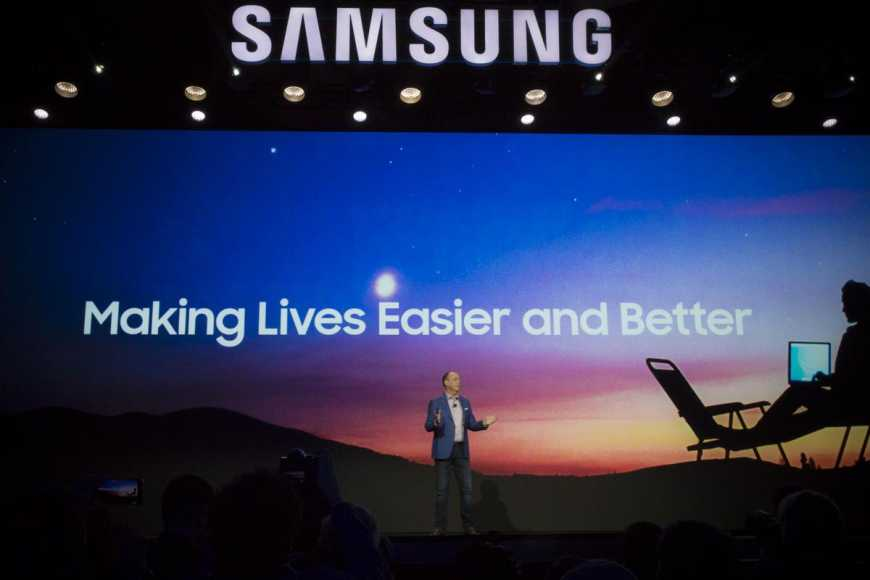 Named the date of the presentation of the new Samsung products