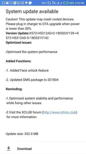 InkedFace unlock feature now in Infinix Note 4 with the new OTA update 2_LI
