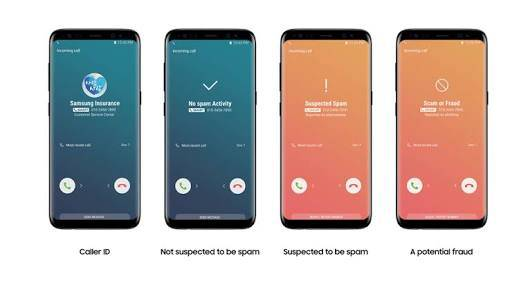 Samsung Smart Call On Samsung Galaxy Note 8