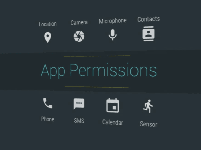 Manage Apps permissions