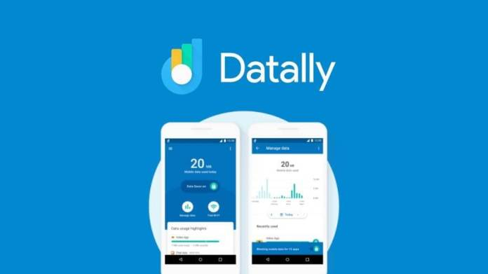 Google datally data saving android