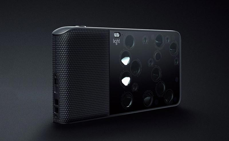 Light is working on a smartphone with a 9 camera lens system