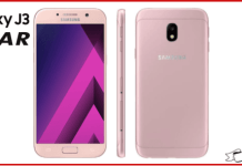 Samsung Galaxy J3 Star VS Samsung Galaxy J3 2018