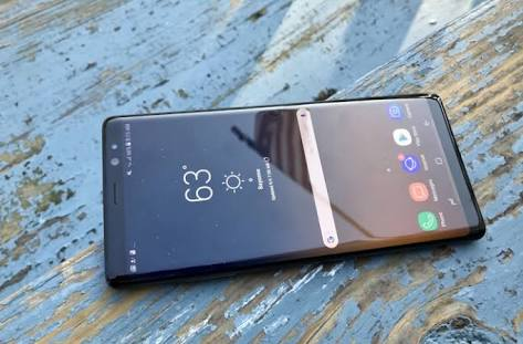 Samsung Galaxy Note 8 touch screen Sensitivity