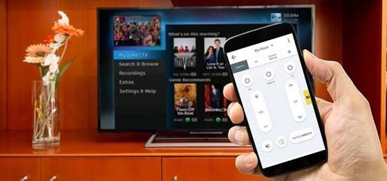 Use smartphone as tv remote